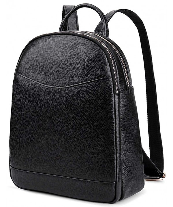 Genuine Leather Backpack Hotstyle Bookbags