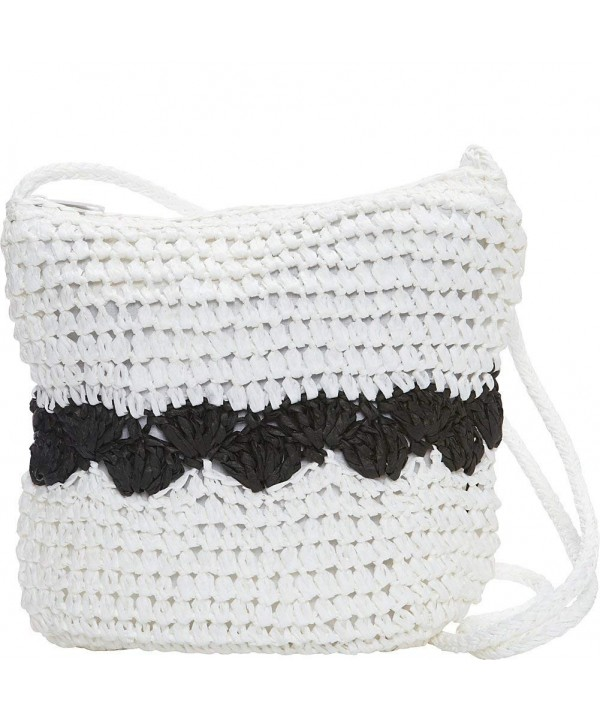 Magid Color Block Crochet Crossbody