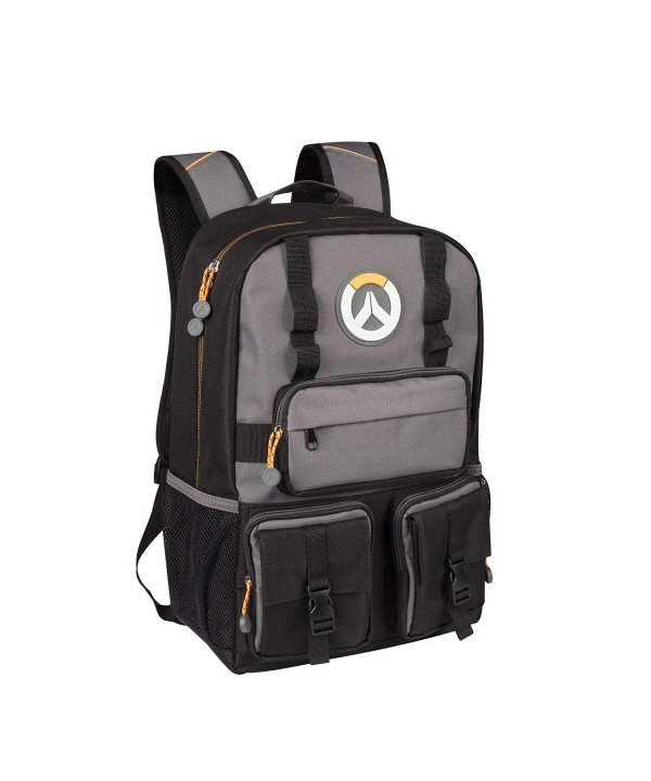 JINX Overwatch Laptop Backpack Black