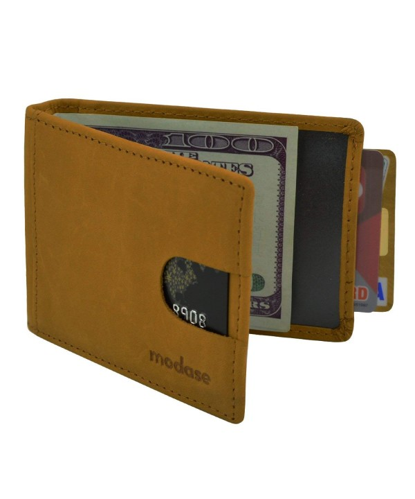 Wallet Blocking Genuine Leather Wallets