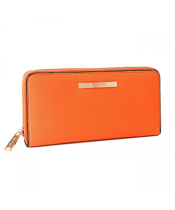 Womens Wallet Leather Clutch Holder