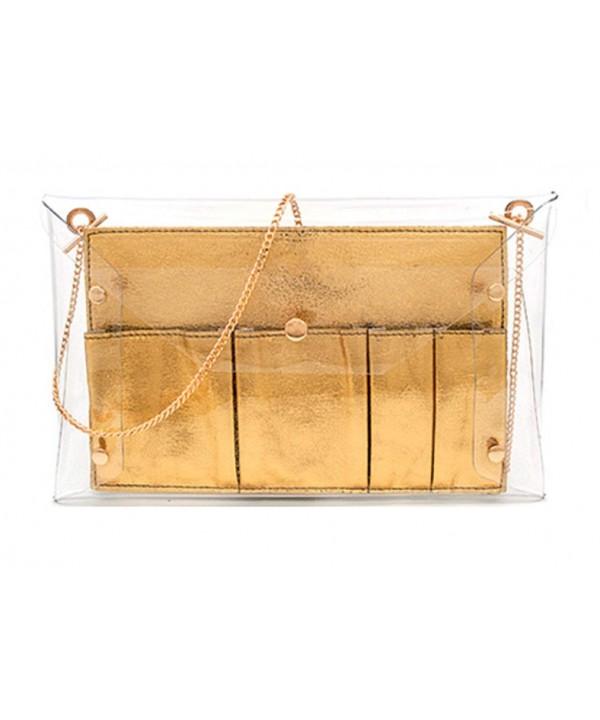 MARKFRAN Envelope Handbag Crossbody Organaizer