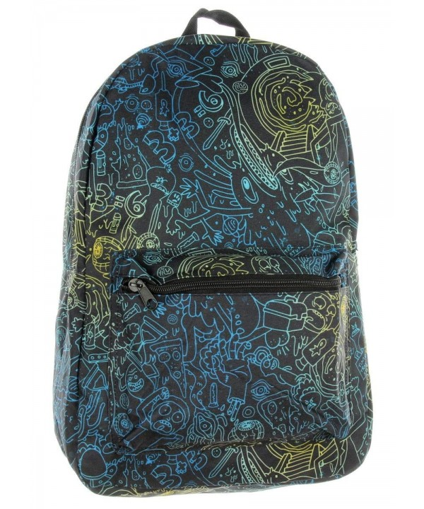 Rick and Morty Psycho Backpack