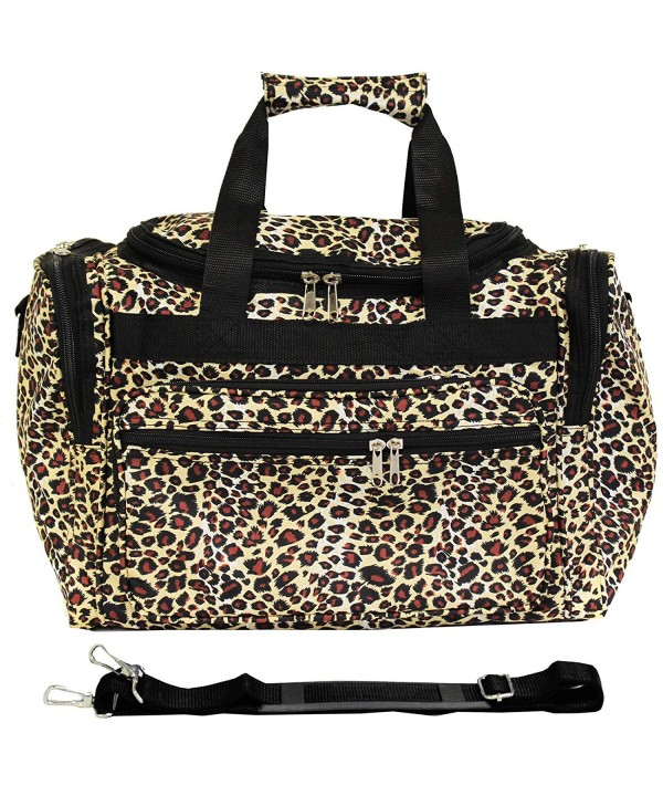 World Traveler 81T16 168 Duffle Leopard