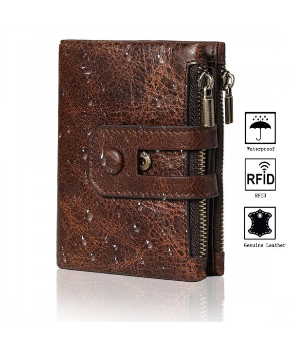 Blocking Wallets Trifold Genuine Minimalist