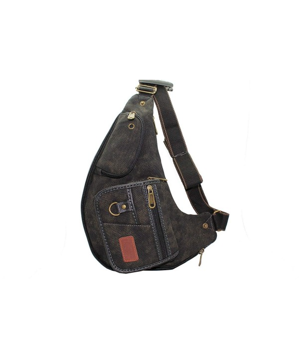JTC 5702 KMB Black Egyptian Sling Bag