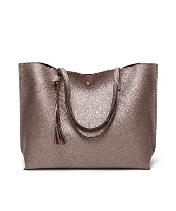 Nodykka Satchel Handbags Pebbled Shoulder