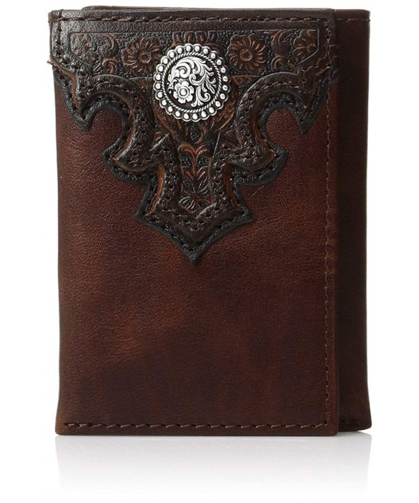 Ariat Scroll Trifold Western Wallet