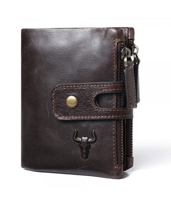 Protective Leather Credit Holder Wallet