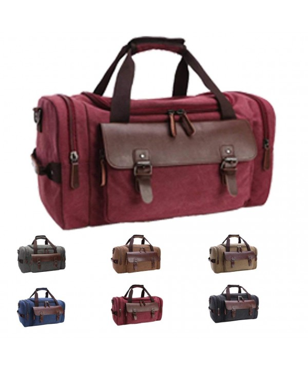 Queenie Overnight Luggage Shoulder Burgundy
