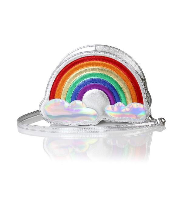 Holographic Rainbow Crossbody Metallic Festival