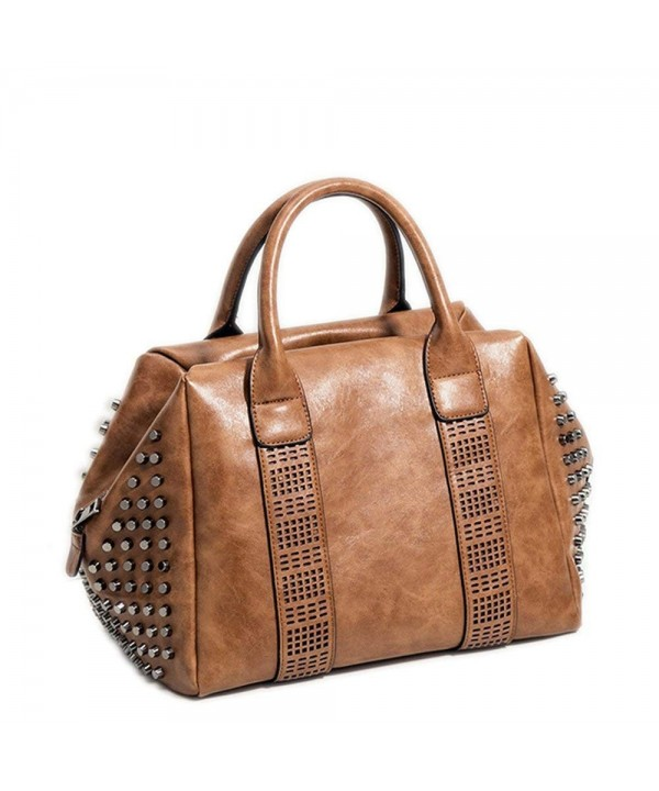 Mn Sue Satchel Studded Shoulder