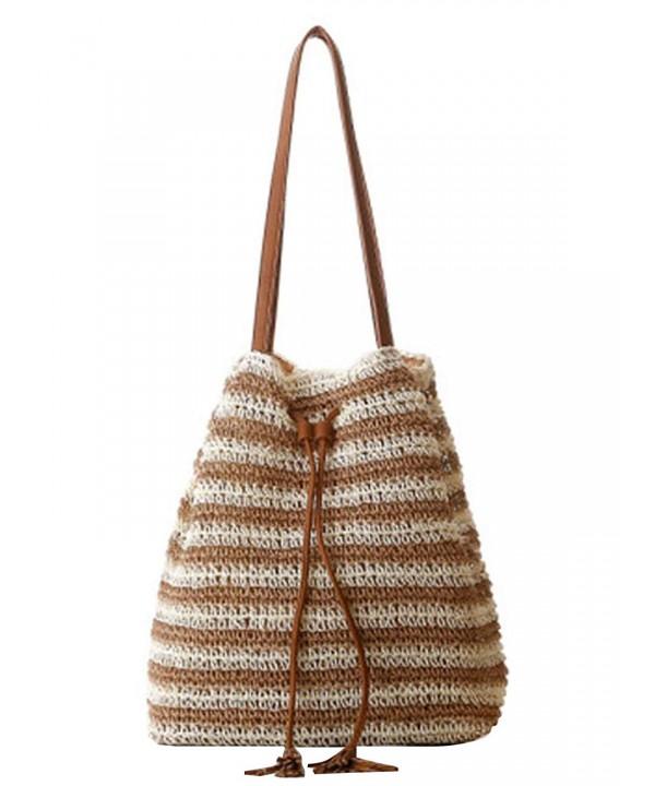 Sulida Womens Knitted Shoulder Handbag