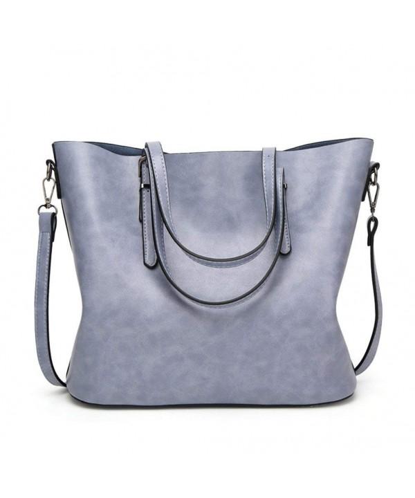 KARRESLY Handbags Shoulder Messenger Light blue