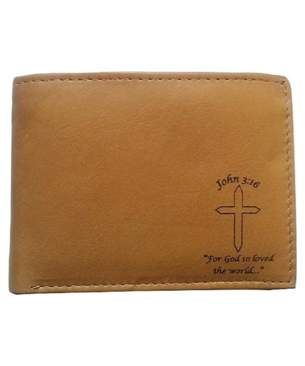 Mens Christian John Genuine Leather
