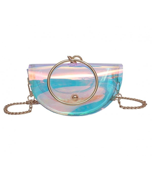 Hologram Transparent Crossbody Shoulder Rainbow