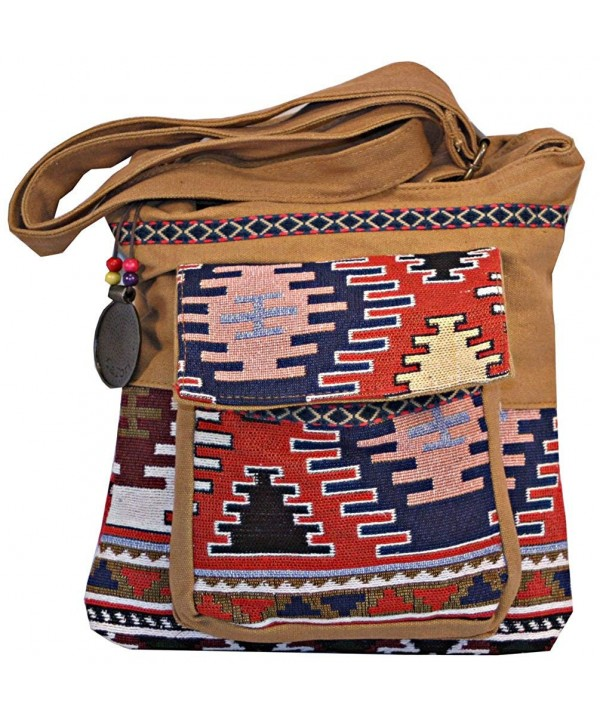 Boho Chic Crossbody Messenger Bag