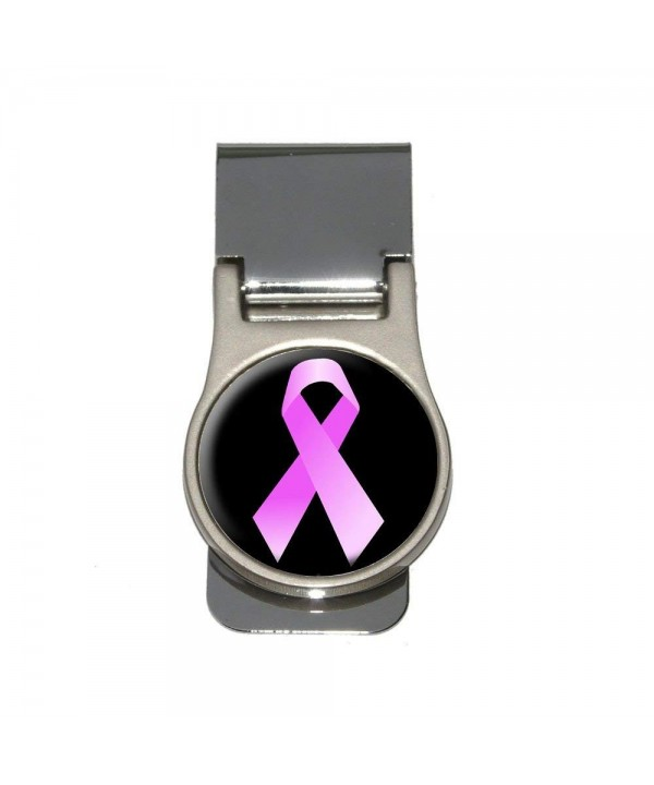 Breast Cancer Ribbon Black Money