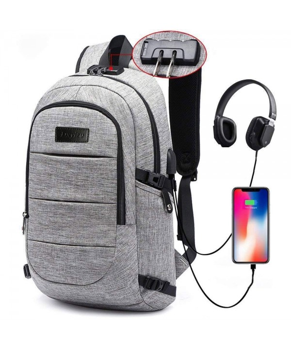 Backpack Computer Headphone Waterproof Compartment