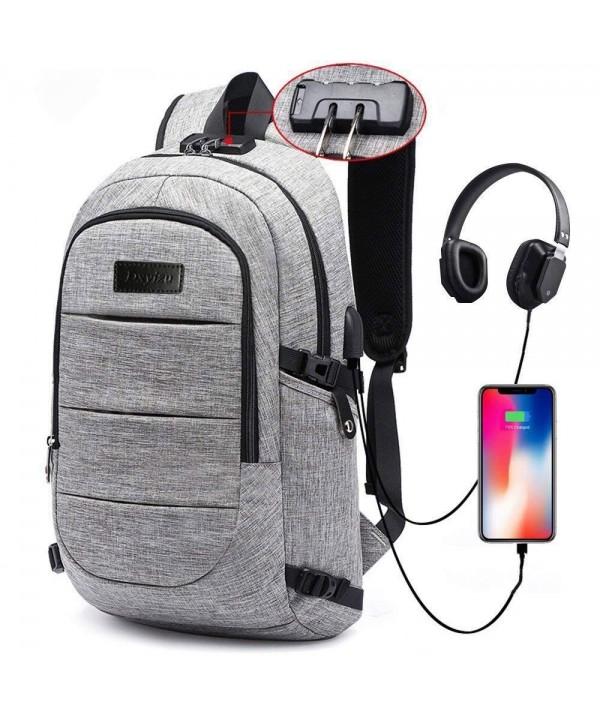 Backpack Computer Headphone Waterproof Compartment
