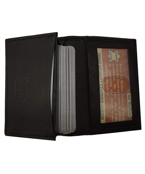 Genuine Leather Wallet Business Credit