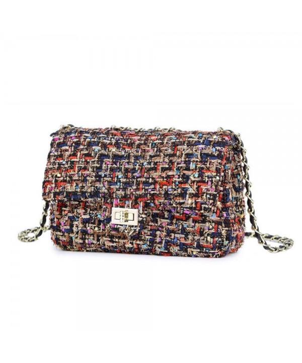 Handbag Quilting Envelope Shoulder Multicolor