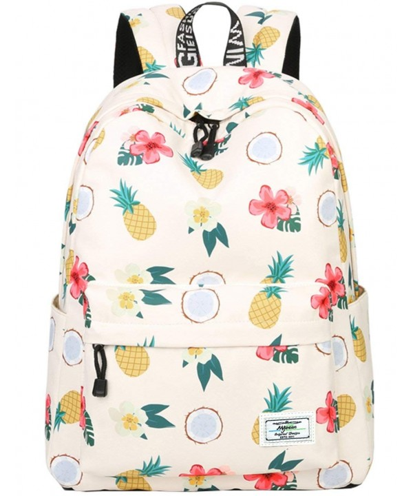 Bookbags lightweight Pineapple Backpack College