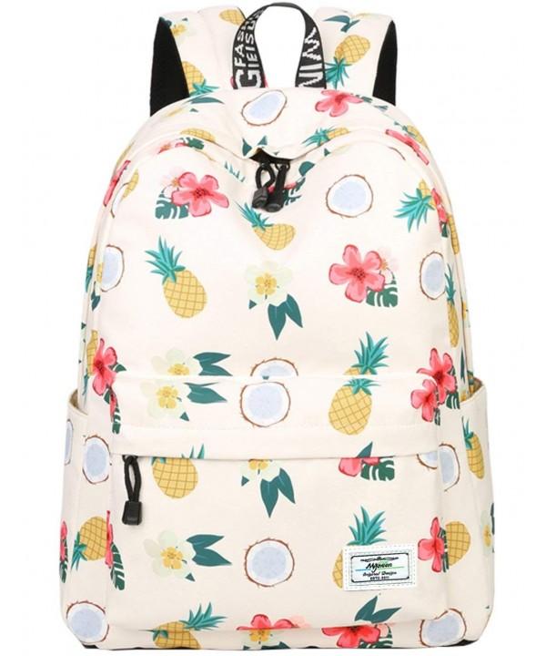 Bookbags lightweight Pineapple Backpack College
