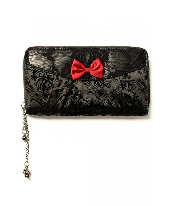 Banned Vine Black Lace Wallet