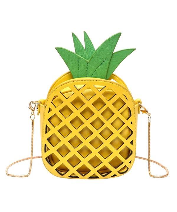 Kukoo Leather Pineapple Creative Shoulder