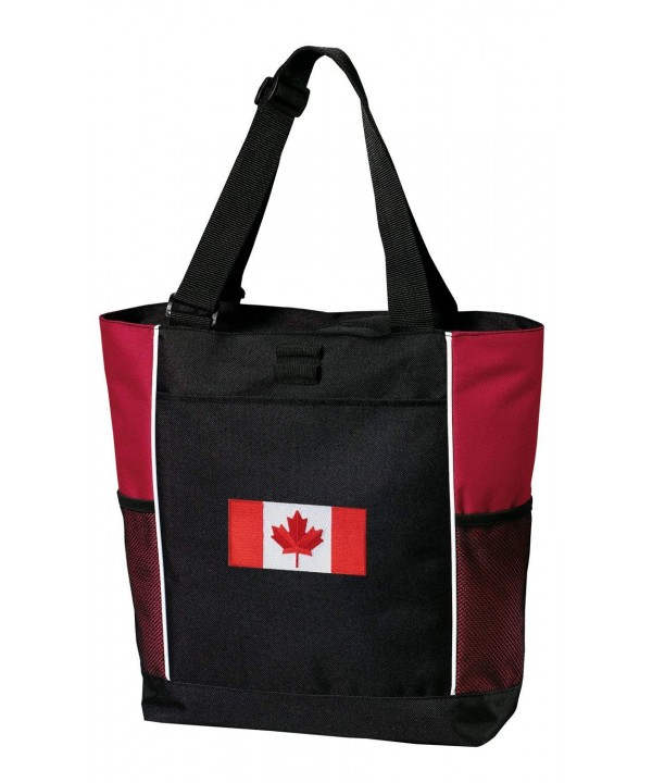 Canada Flag Totes Beach Travel