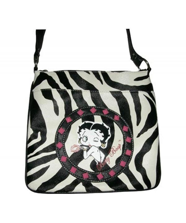 Betty Boop Messenger Bq881 Zebra
