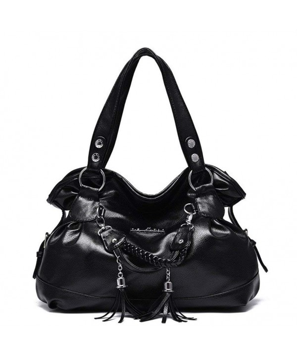Hynbase Casual Leather Handbag Shoulder