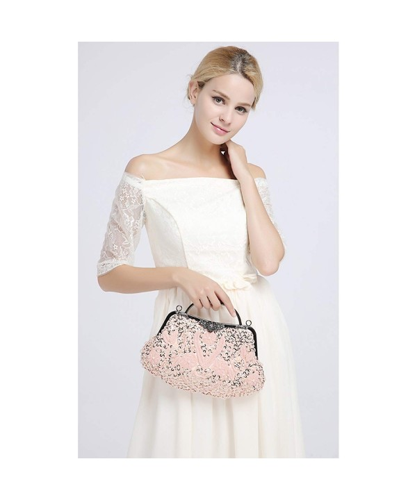 toyofmine Handbags Evening Kiss Lock Wedding