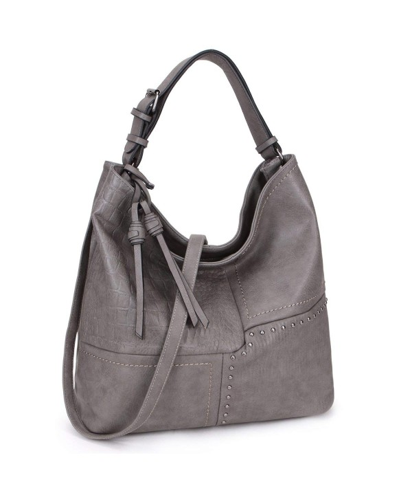 Dasein Hobo Shoulder Bag Grey