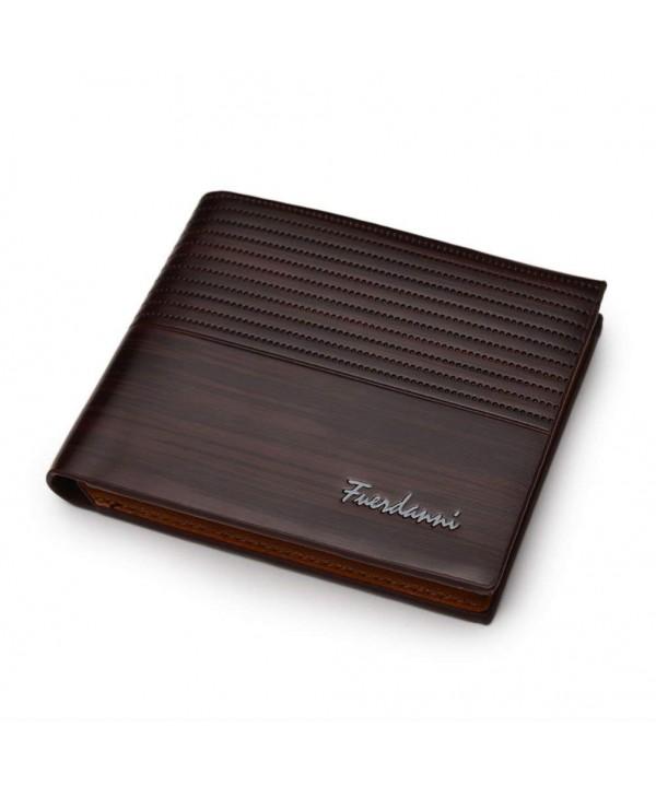 Homedeco Leather Bifold Holder Vintage