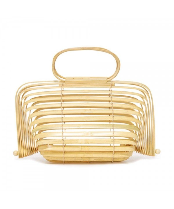 Herald Fashion Bamboo Handbag Handmade