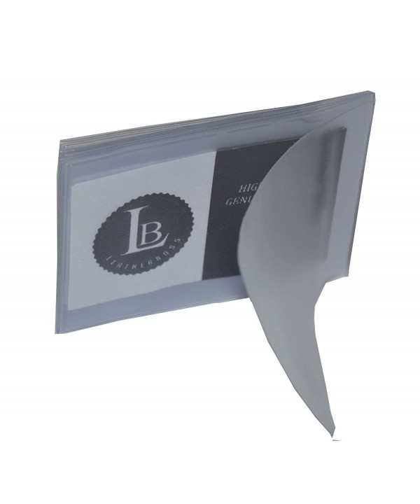 SET Plastic Wallet Insert Billfold