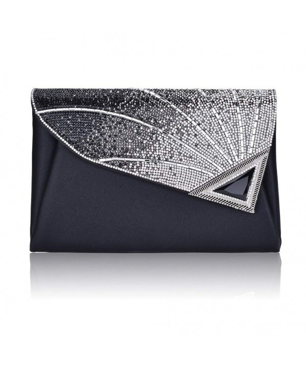 Rhinestone handbags Leather Wedding Cocktail
