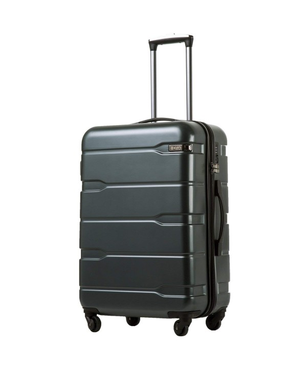 Coolife Luggage Suitcase Spinner Carry