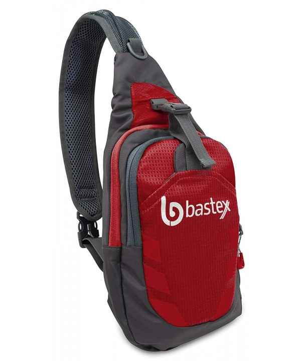 Bastex Red Shoulder Backpack Outdoor