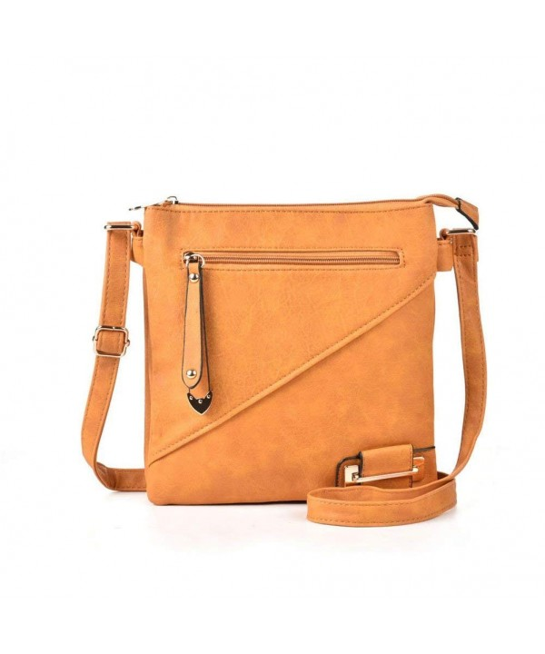 GLITZALL Leather Fashion Crossbody handbag