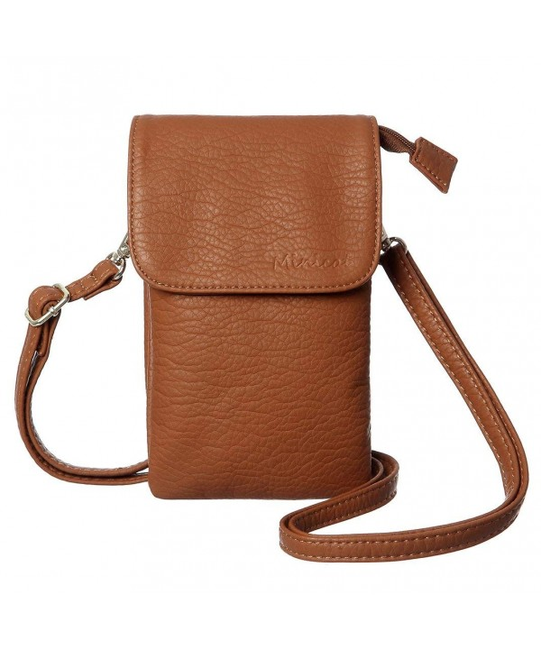 MINICAT Snythethic Leather Crossbody Wallet