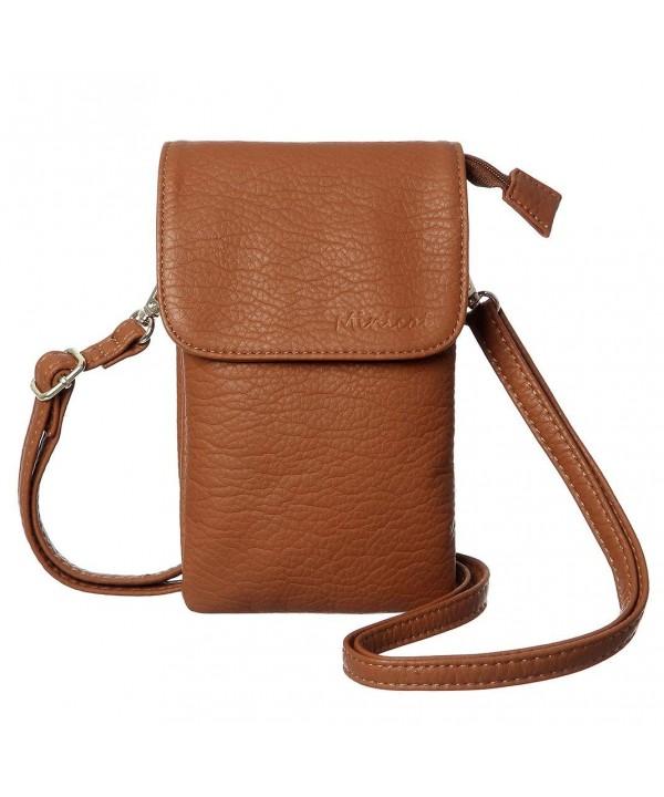 MINICAT Snythethic Leather Crossbody Wallet