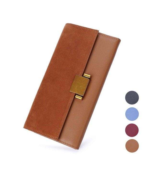 Luxury Genuine Leather Wallet Organizer