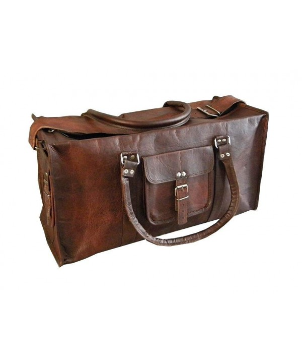 leather Leather Holdall Overnight Weekend