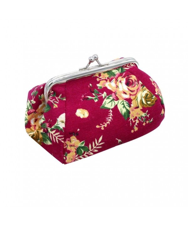 Wallet Paymenow Vintage Flower Clutch