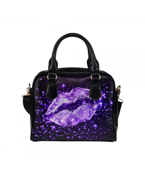 InterestPrint Glitter Womens Shoulder Handbag