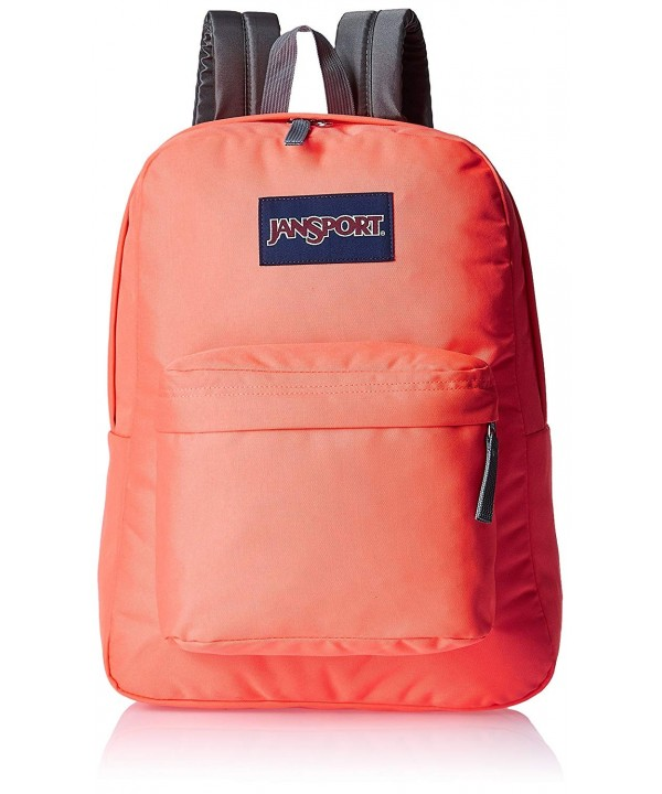JanSport Unisex Superbreak Tahitian Orange