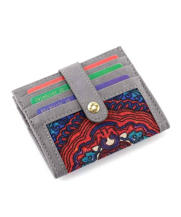 Womens Credit Holder Multi Slot Closure